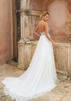 Our Dream Dresses Justin Alexander Style 88035 Heavily Beaded Illusion Bodice A Line Gown Stunning