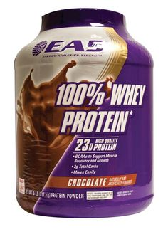 EAS International 100% Whey Protein Chocolate  350 gram - Whey Protein is een puur prote�ne supplement zonder
