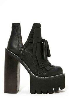Jeffrey Campbell O-Quinn Platform Boot - Black