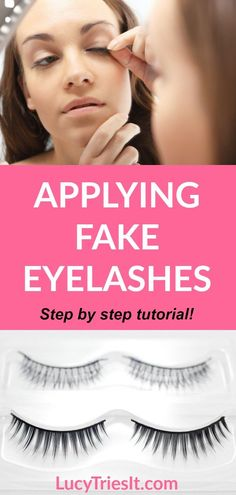 880c175708d Need help applying fake eyelashes? Then look no further because this is the  tutorial for