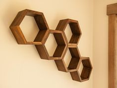 With over 30 years of woodworking experience, the goal of family-run business, Haase Handcraft, has always been to provide quality, handcrafted products at reasonable prices. As avid apiarists, the Haase family are inspired to bring the honeycomb shape into their decor and found their niche making hexagon shelves. They are happy to have found something both fun and functional in which to focus their creative energies.