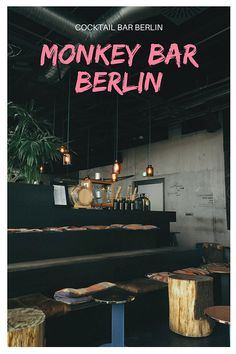 Monkey Bar Berlin at the 25 Hours Bikini Hotel Drink Cocktails With the View Over Berlin Zoo