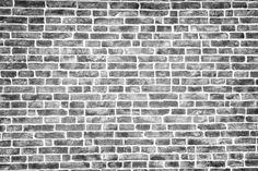 Black and white brick texture, background - Custom Wallpaper White Brick Wallpaper, White Brick Walls, Black Brick, Black And White Wallpaper, Black And White Background, Textured Background, White Glass Tile, Types Of Bricks, Custom Wallpaper
