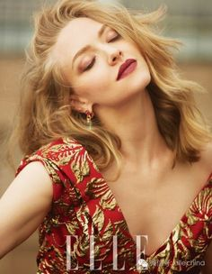Amanda Seyfried in Elle Magazine, China September 2016 Issue