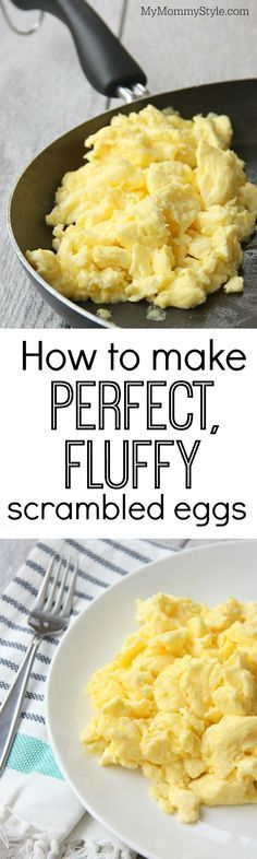Learn the secrets of making perfect scrambled eggs that are fluffy and melt-in-your mouth delicious.