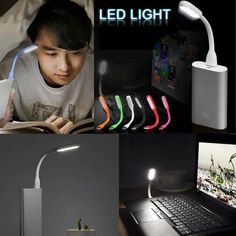 Flexible Mini USB Lamp  as low as $1.61 here