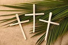 LIFE LESSON FOR TODAY: WHAT DOES IT MEAN? HOLD UP PALM LEAVES & PRAISE JESUS!