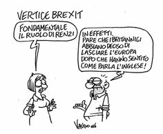 Vauro (2016-06-28) BREXIT! Il Fatto Quotidiano