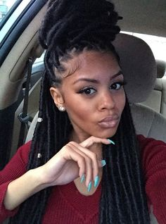"Janet Collection Havana Mambo Faux Locs Braid 14"" Light Brown and Blonde Faux Loc Style 1PIECE Only"