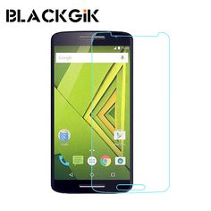 For MOTO X play Tempered Glass Film Screen Protector Anti-shatter Film For MOTO X play Cell Phone Safety Package