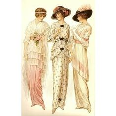 The fashion of 1914 takes us from the rigid Victorian era where corsets were…