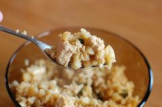 Chicken Fried Rice (um….I meant cauliflower). Low carb and pale dinner that was approved by the hubs! | Foodierachel