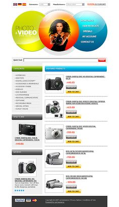 Photo & osCommerce Templates by Lovely