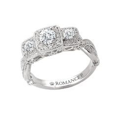 my ring...but with princess cut diamonds