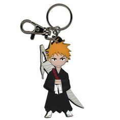 Bleach SD Ichigo Key Chain Anime Manga MINT in Collectibles, Animation Art & Characters, Japanese, Anime Anime Bleach, Anime Toys, Anime Merchandise, Leather Keychain, Geek Out, Chibi, Nerd, Geek Stuff, Just For You