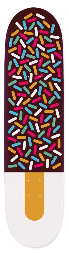 """Summer"" - Skateboard Deck - Matt Chase 