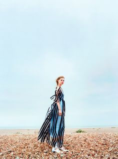 where the sea meets the sky: ola rudnicka by koto bolofo for uk harper's bazaar april 2016 | visual optimism; fashion editorials, shows, campaigns & more!
