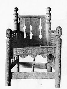 St. Thomas guild - medieval woodworking, furniture and other crafts: chair