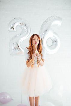 Big Mylar Number Balloons | The TomKat Studio Shop