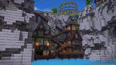 Minecraft Banner Designs, Easy Minecraft Houses, Minecraft Banners, Minecraft Plans, Minecraft Room, Minecraft Survival, Minecraft Tutorial, Minecraft Blueprints, Minecraft Creations