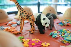 Zoo Keeper boy birthday party activities! See more party planning ideas at CatchMyParty.com!