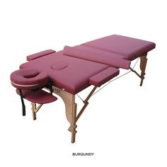 8-Piece Set: Portable Massage Table with Accessories - Assorted Colors 7/17/2014 price $109.00 NoMoreRack.com