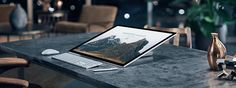Microsoft goes after Apple users with sleek Surface desktop   The company showed off a collection of shiny new tech products Wednesday morning ahead of the holiday shopping season.  As expectedMicrosoftdebuted an all-in-one Surface PC called Surface Studio ($2999) which has a strong focus on creativity. It's clear the company wants users to start thinking of its products as more than just productivity tools.  While the tech giant has launched tablets and laptops under the Surface branding…