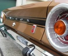 Ford Falcon XR GT Back End