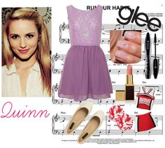 """""""Glee: Quinn Fabray"""" by crazykidcandace on Polyvore"""