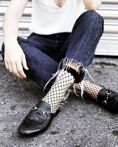 fb221692aa9 How To Wear Fishnet Tights or Socks