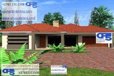 Exterior Paint Colors, Paint Colours, House Plans South Africa, All Design, House Design, Site Plans, Detailed Drawings, Garage Plans, Ranch Style