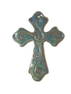 cross decor | Greek Cross Sandstone Hills Pottery Greek Cross wall decore product ...