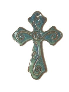 cross decor | Greek Cross Sandstone Hills Pottery Greek Cross wall decore product ...