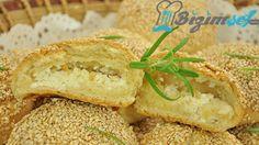 Peynirli Susamlı Poğaça Tarifi