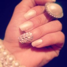 Elegant nails I just did :)