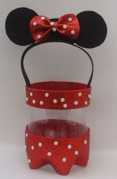 DIY Minnie Mouse Costume for Toddlers Minnie Mouse Costume Toddler, Mickey E Minnie Mouse, Minnie Mouse Theme Party, Fiesta Mickey Mouse, Mickey Mouse Clubhouse Birthday, Mickey Party, Mouse Parties, Mickey Craft, Happy 1st Birthdays