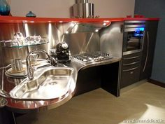 Purposeful design for seated user but functional for all in this Lucci designed kitchen (Love this Kitchen!)