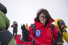 Ezra Miller -   APRIL 06: NORTH POLE EXPEDITION BEGINS AT BARNEO BASE
