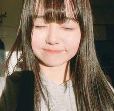 Asian Cute, Cute Asian Girls, Cute Girls, Kawaii Cute, Kawaii Girl, Long Curly Hair, Curly Hair Styles, Kawaii Makeup, Korean Fashion Trends