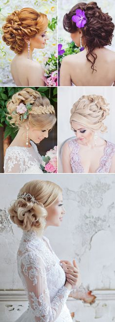 23 Seriously Creative Bridal Hairstyles Like No Other - Romantic Updo