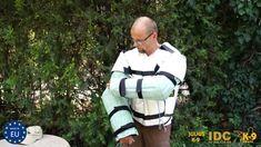 Civil bite suit, Zivil-Unterziehanzug for police dog training.