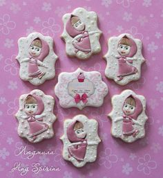Купить или заказать Печенье 'Маша и Медведь' в интернет-магазине на Ярмарке…