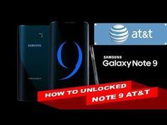 unlock at&t note 8