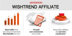 BECOME A WISHTREND AFFILIATE.  I'm going to introduce our fabulous affiliate program. If you have a passion and love for Wishtrend and interested in a kind of online sales partnership, Please read the following articles first.  You can see more information on this page : http://www.wishtrend.com/content/97-wishtrend-affiliate-program If you have any problems and difficulty, our affiliate manager will kindly help you. Please ask any inquiries regarding this program to…