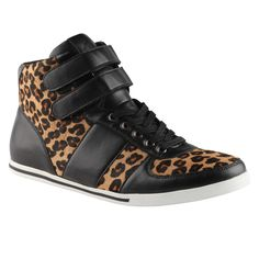 Make a bold statement with the KELLMAN sneaker (I do!) #leopard #
