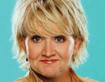 Chonda Pierce -Comedian/ Actress who gives the original meaning to ROFLOL......(I was the second row piano side.)