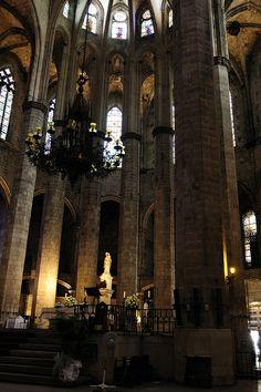 Esglesia de Santa Maria del Mar,  Barcelona  Catalonia