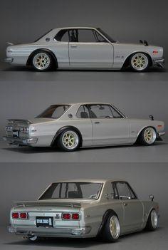 旧車 NISSAN Hakosuka GT-R ハコスカ 日産 C110 スカイライン  2000GT Classic Japanese Cars, Japanese Sports Cars, Classic Cars, Nissan Skyline 2000, Skyline Gtr, National Car, Japan Cars, Modified Cars, Jdm Cars