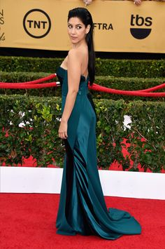 Pin for Later: See All the Stars on the SAG Awards Red Carpet! Stephanie Beatriz