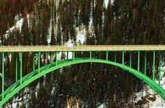 Bridge between Leadville and Vail, CO